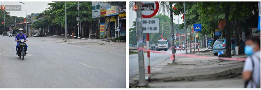 Hà Nội: Cận cảnh khu vực phong toả 6.000 dân ở Thường Tín, nhiều người đi làm ngỡ ngàng phải quay xe-2