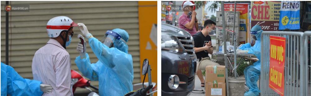Hà Nội: Cận cảnh khu vực phong toả 6.000 dân ở Thường Tín, nhiều người đi làm ngỡ ngàng phải quay xe-5