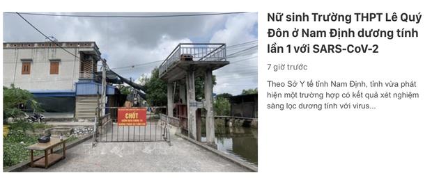 Vũ Khắc Tiệp vừa rời Nam Định đưa bố mẹ đến Đà Lạt, nơi đây truy vết khẩn cấp 179 ca F1-6