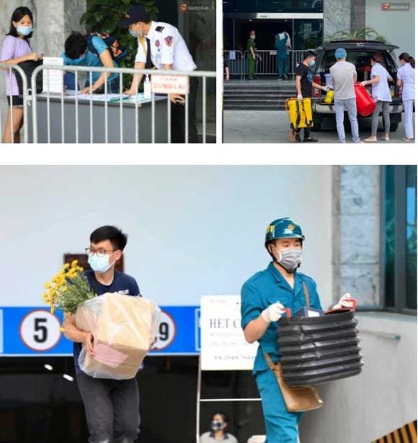 Hà Nội: Lập rào chắn, cách ly y tế tạm thời chung cư The Legacy sau ca dương tính với SARS-CoV-2-6
