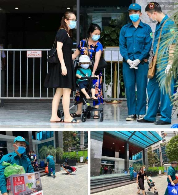 Hà Nội: Lập rào chắn, cách ly y tế tạm thời chung cư The Legacy sau ca dương tính với SARS-CoV-2-8