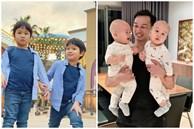 3 cặp song sinh rich kid đáng yêu nhất của các gia đình Việt, toàn 'nam thần nhí' khiến team bỉm sữa thích mê