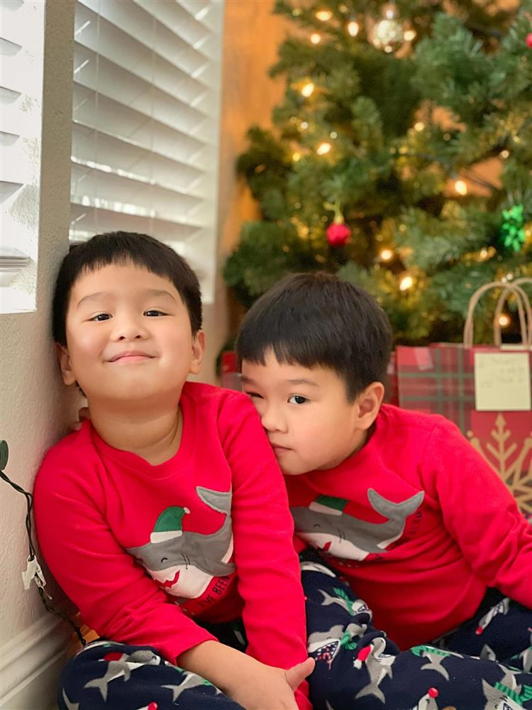 3 cặp song sinh rich kid đáng yêu nhất của các gia đình Việt, toàn nam thần nhí khiến team bỉm sữa thích mê-13