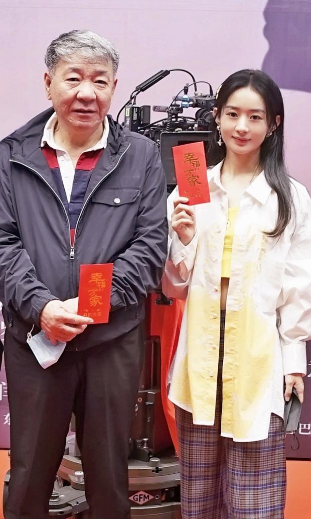SỐC: Phùng Thiệu Phong tung clip ngoại tình của Triệu Lệ Dĩnh với đạo diễn 67 tuổi, nữ diễn viên khóc lóc xin lỗi?-5