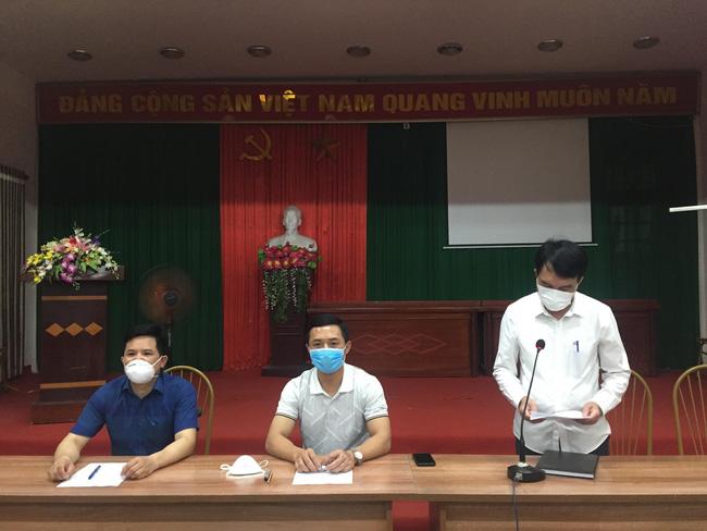Hà Nội: Cách ly y tế đối với ổ dịch COVID-19 tại xã Hiệp Thuận, huyện Phúc Thọ tới 30/5-1