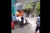 CLIP: Cháy dữ dội ở Bình Chánh, TP HCM