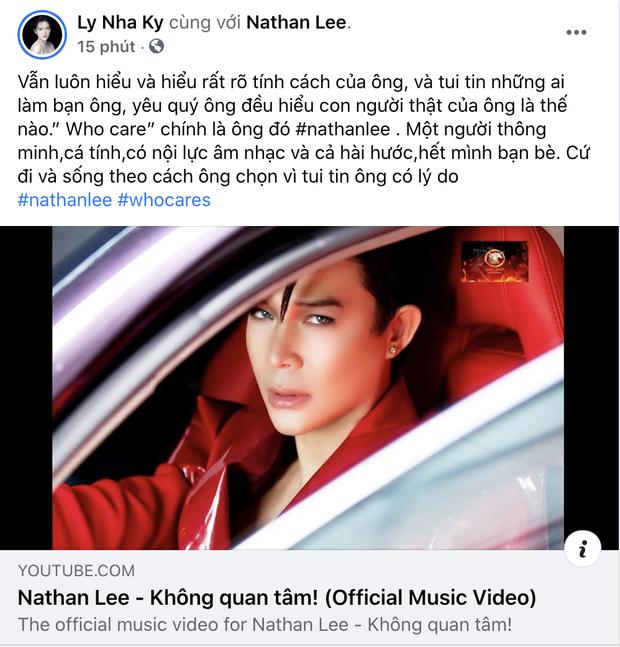 Lý Nhã Kỳ khen Nathan Lee hết lời sau loạt ồn ào làm loạn showbiz, nhắn nhủ điều gì mà khiến netizen tá hoả-1