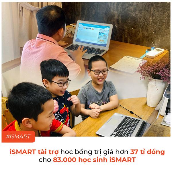 iSMART tài trợ 37 tỷ đồng cho HS toàn quốc học trực tuyến-1