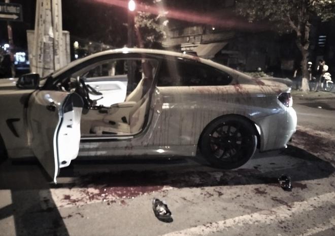 Hai người đi xe BMW bị chém ở TP.HCM-1