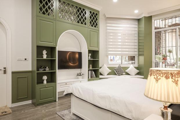 Vợ chồng mệnh Mộc xây nhà gần 2 tỷ trên mảnh đất cha ông để lại, ai cũng mê mẩn màu xanh olive phá cách-7