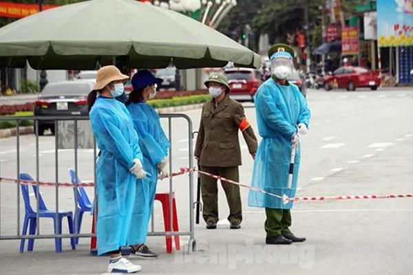 Nữ công nhân Samsung ở TP Chí Linh dương tính SARS-CoV-2-1