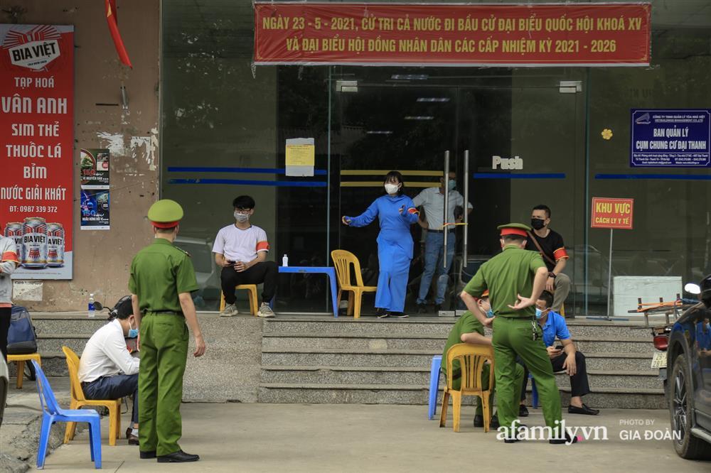 Phong tỏa tòa chung cư tại KĐT Đại Thanh có ca dương tính SARS-CoV-2 liên quan chùm ca bệnh tại Bệnh viện K cơ sở Tân Triều-2