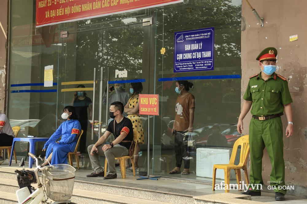 Phong tỏa tòa chung cư tại KĐT Đại Thanh có ca dương tính SARS-CoV-2 liên quan chùm ca bệnh tại Bệnh viện K cơ sở Tân Triều-7