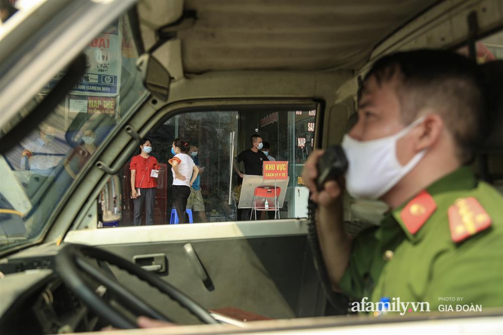 Phong tỏa tòa chung cư tại KĐT Đại Thanh có ca dương tính SARS-CoV-2 liên quan chùm ca bệnh tại Bệnh viện K cơ sở Tân Triều-17