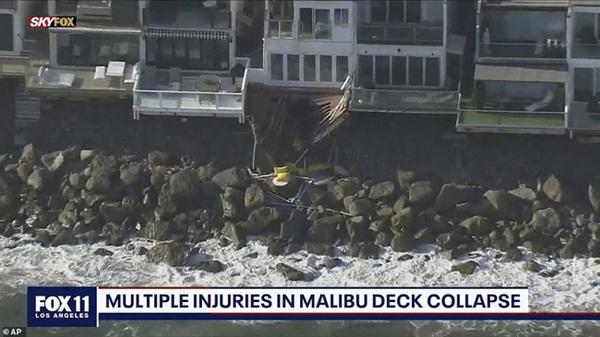 Thuê nhà ven biển cho 5 người ở nhưng mời tận 30 người đến chơi, nhóm bạn lĩnh ngay hậu quả khi ban công đổ sập xuống bãi đá bên dưới-5