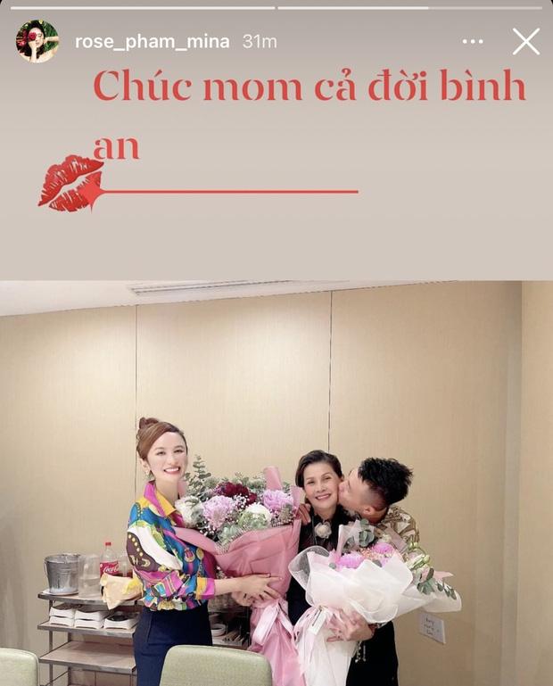 Bà 2 của Minh Nhựa tung khoảnh khắc cười tươi rói bên cạnh mẹ chồng, khẳng định mối quan hệ tốt đẹp-1