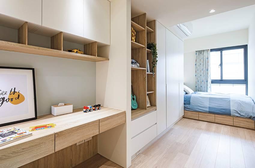 Ngôi nhà lấy ý tưởng thiết kế từ một cái cây lớn với 6 phòng ngủ đơn giản trang nhã, không gian dài, rộng và cao-7
