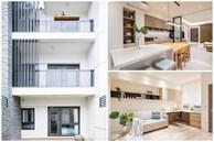 Ngôi nhà lấy ý tưởng thiết kế từ một cái cây lớn với 6 phòng ngủ đơn giản trang nhã, không gian dài, rộng và cao