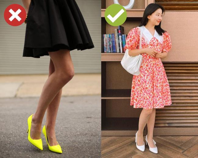 4 kiểu giày dép cứ mix với váy là hỏng cả set đồ, vóc dáng bị dìm cực thảm-3