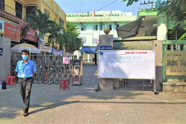 Đà Nẵng tạm dừng hoạt động 1 bệnh viện vì phát hiện ca dương tính SARS-CoV-2 liên quan Khu công nghiệp An Đồn-1