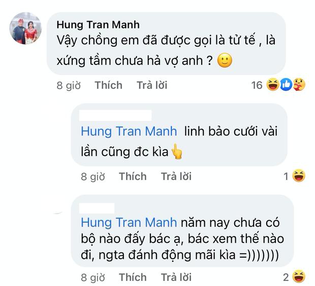 MC Hoàng Linh  tuyên bố cưới không xứng tầm thì thà độc thân, sự xuất hiện của người chồng trong comment gây xôn xao-6