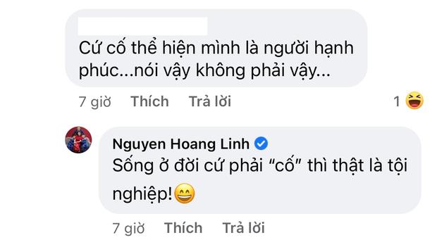 MC Hoàng Linh  tuyên bố cưới không xứng tầm thì thà độc thân, sự xuất hiện của người chồng trong comment gây xôn xao-3