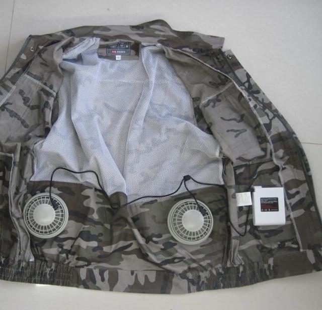 Bỏ tiền triệu mua áo gắn điều hòa hạ nhiệt nắng nóng như thiêu đốt-1