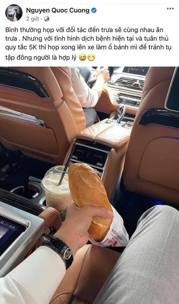 Đại gia phố núi như Cường Đô la cũng phải ngồi xế bạc tỷ ăn ổ bánh mì 10 ngàn đồng vì lí do này-2