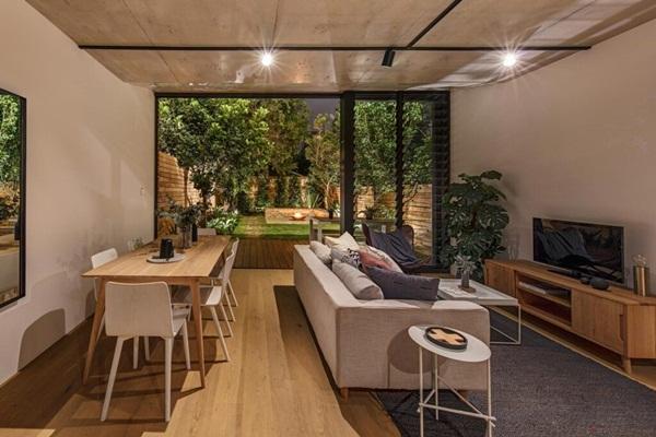 Ngôi nhà nhỏ với khu vườn ở sân sau mang đến bầu không khí hòa mình với thiên nhiên, thuận tiện vui chơi thả ga dịp cuối tuần-8