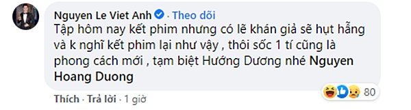 Việt Anh tuyên bố tập 36 lên sóng tối qua là tập cuối Hướng dương ngược nắng?-2
