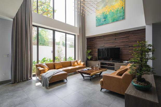Căn nhà 4 tầng nổi bật ở cuối ngõ, thiết kế táo bạo với ban công hình phễu-6