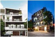 Căn nhà 4 tầng nổi bật ở cuối ngõ, thiết kế táo bạo với ban công hình phễu