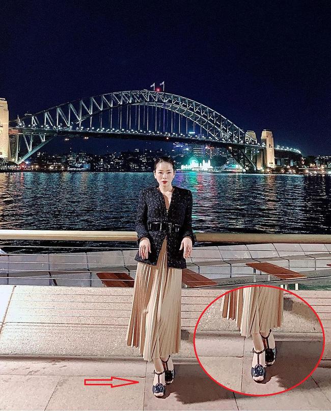 Đi vào vết xe đổ của Hà Hồ, Lệ Quyên diện sandals Chanel vẫn kém sang chỉ vì chi tiết này-4