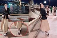 Đi vào vết xe đổ của Hà Hồ, Lệ Quyên diện sandals Chanel vẫn 'kém sang' chỉ vì chi tiết này