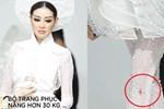 Fan lo lắng vì Khánh Vân tiết lộ gặp chấn thương khi mặc trang phục dân tộc trước bán kết Miss Universe 2020