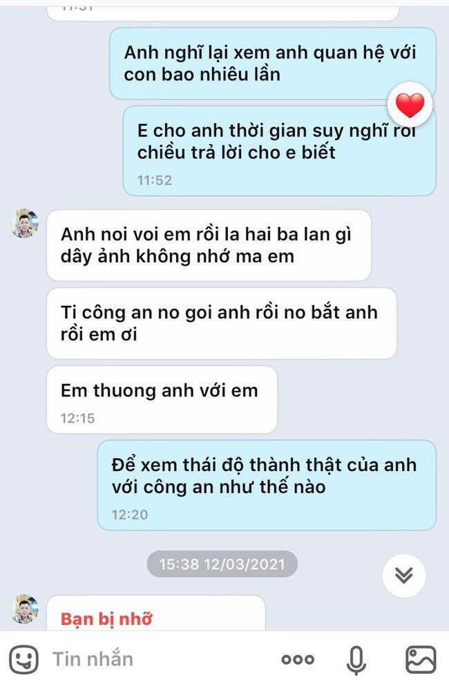 Vụ con gái tố bị cha dùng vũ lực hiếp dâm ở Phú Thọ: Lộ tin nhắn cầu xin tha thứ của người cha, dù trước đó một mực chối tội-2