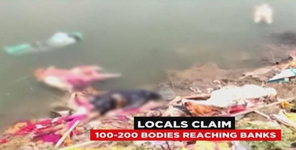 Sau vụ xác chết trôi dạt trên sông Hằng, Ấn Độ tiếp tục phát hiện hàng chục thi thể vô danh bị chôn vùi dưới cát-3