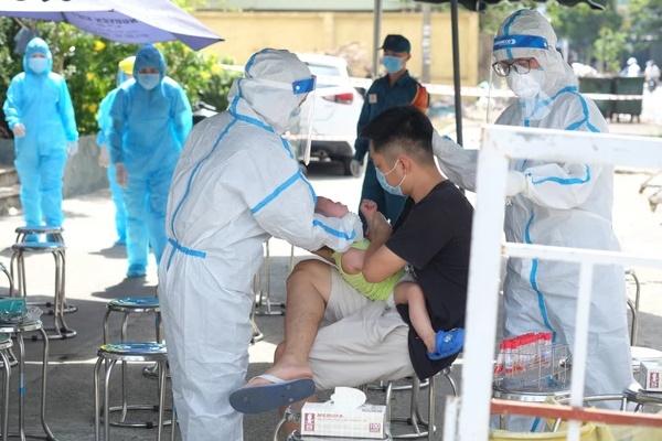 Đà Nẵng: Bé gái 3 tuổi dương tính SARS-CoV-2-1