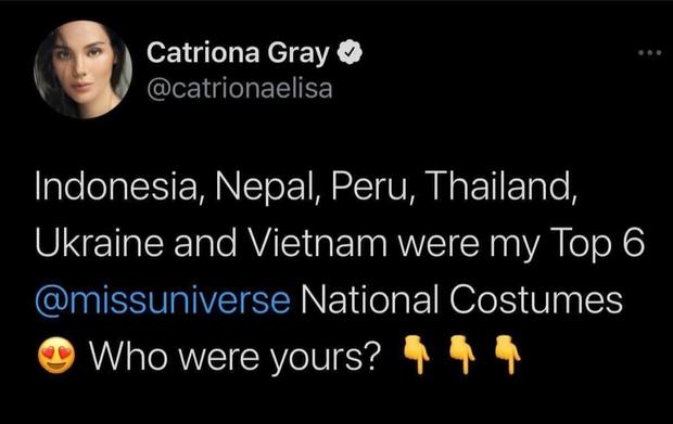 Trình diễn đỉnh cao, Khánh Vân lọt top 6 trang phục dân tộc yêu thích của Miss Universe 2018 Catriona Gray-4