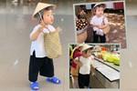 Bộ ảnh 'chị Bảy đi chợ' của bé gái 1 tuổi khiến dân tình cười mệt, mặt biểu cảm 'mặn' như bể muối trông cưng gì đâu