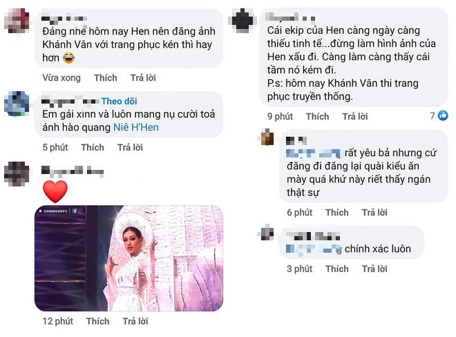 HHen Niê gây tranh cãi vì có hành động kém tinh tế khi Khánh Vân tỏa sáng trên sân khấu Miss Universe-3