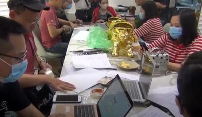 Hà Nội triệt phá 4 sàn giao dịch vàng, tiền ảo lôi kéo người chơi từ 27 quốc gia-1