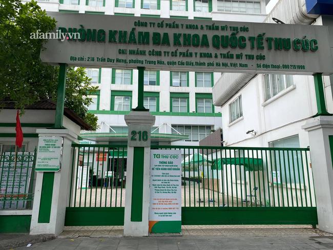 Phòng khám đa khoa quốc tế Thu Cúc bị xử phạt 20 triệu đồng sau vụ cặp vợ chồng bệnh nhân nhiễm Covid-19-2