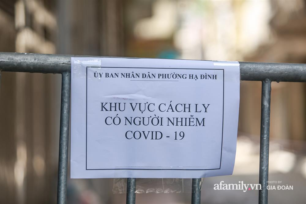 Hà Nội phong tỏa khu dân cư ở Nguyễn Xiển có ca dương tính SARS-CoV-2 là F1 của vợ Giám đốc Hacinco-7