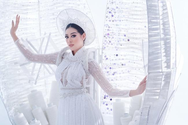 Lộ bảng điểm và thứ hạng của Khánh Vân tại Miss Universe 2020 sau phần thi trang phục dân tộc?-3