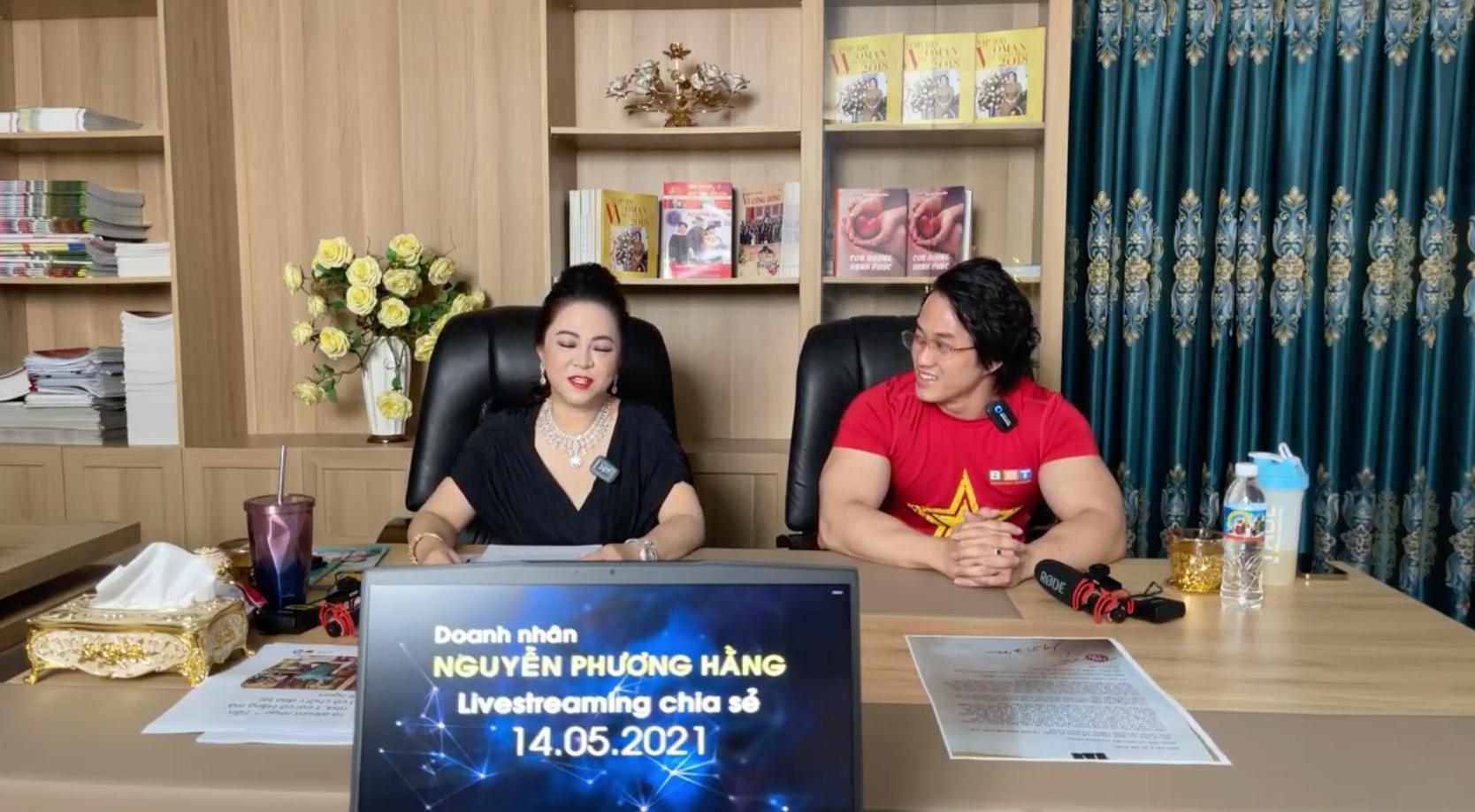 """Bà Phương Hằng đột nhiên bật khóc trên livestream, tiết lộ tỷ phú Hoàng Kiều - người yêu cũ Ngọc Trinh từng cho ông Yên rất nhiều tiền""""-4"""