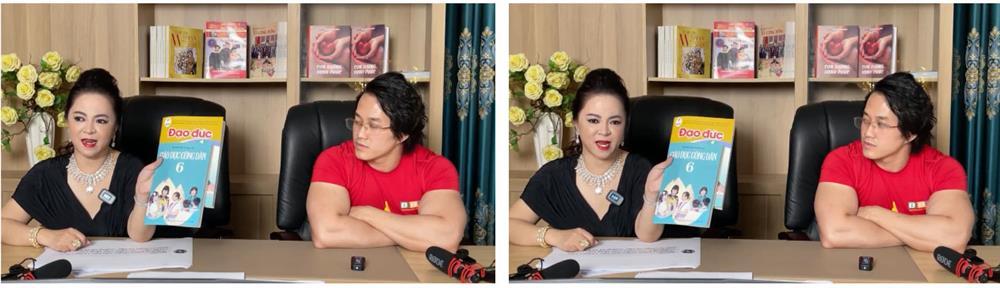 Dằn mặt cực gắt: Bà Phương Hằng xin lại sách Giáo dục công dân và Đạo đức mà dàn nghệ sĩ tặng Gymer Duy Nguyễn vì xúc phạm cố danh hài Chí Tài để trao lại cho con trai Hoài Linh-1