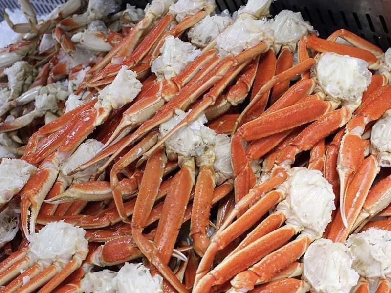 Chân cua tuyết: Hàng vip một thời đổ về chợ Việt, rẻ chưa từng có-2