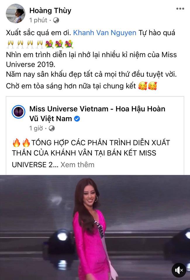 Khánh Vân có chia sẻ đầu tiên sau Bán kết Miss Universe 2020, nói 1 câu mà dàn sao Vbiz đồng loạt trầm trồ và động viên-3