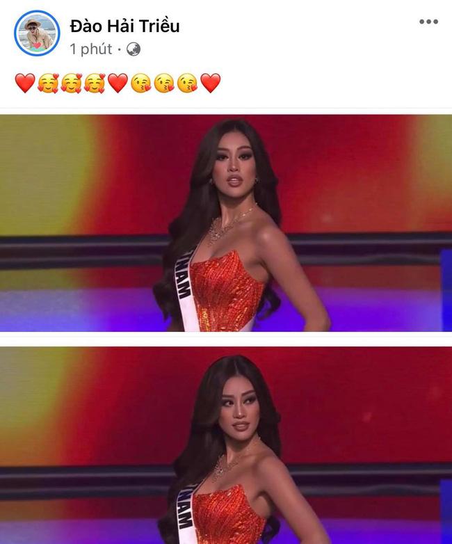 Khánh Vân có chia sẻ đầu tiên sau Bán kết Miss Universe 2020, nói 1 câu mà dàn sao Vbiz đồng loạt trầm trồ và động viên-9